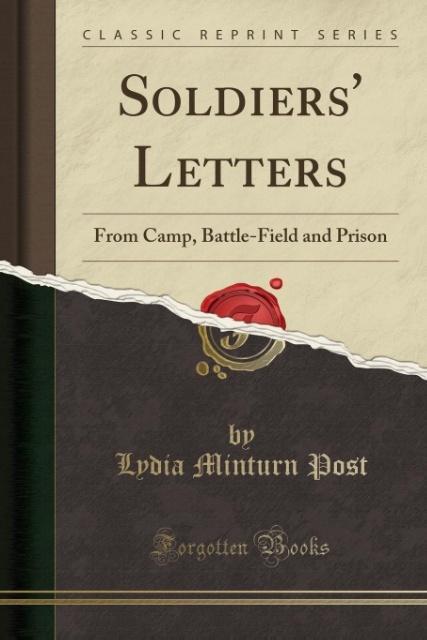 Soldiers´ Letters als Taschenbuch von Lydia Min...
