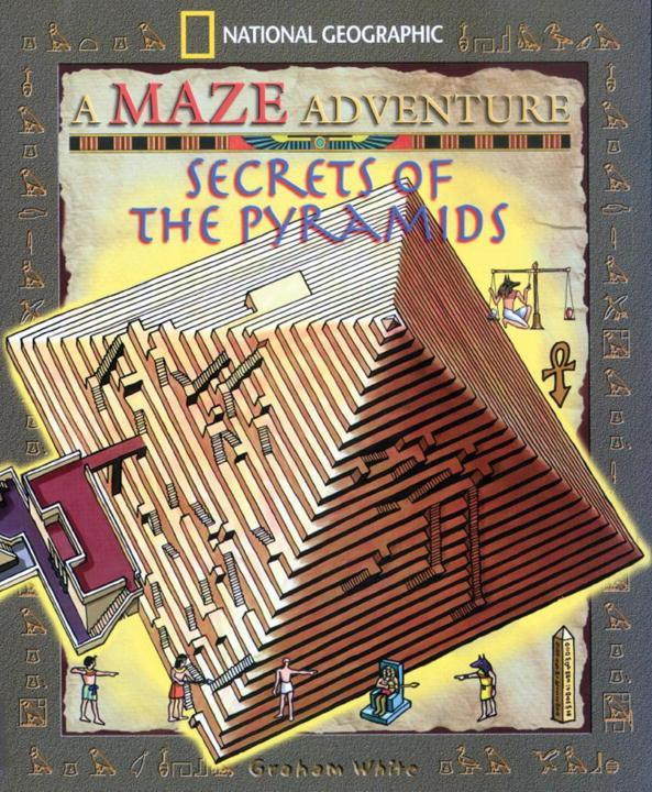 Secrets of the Pyramids: National Geographic Maze Adventures als Taschenbuch