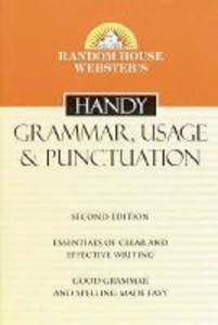 Random House Webster's Handy Grammar, Usage, & Punctuation als Taschenbuch