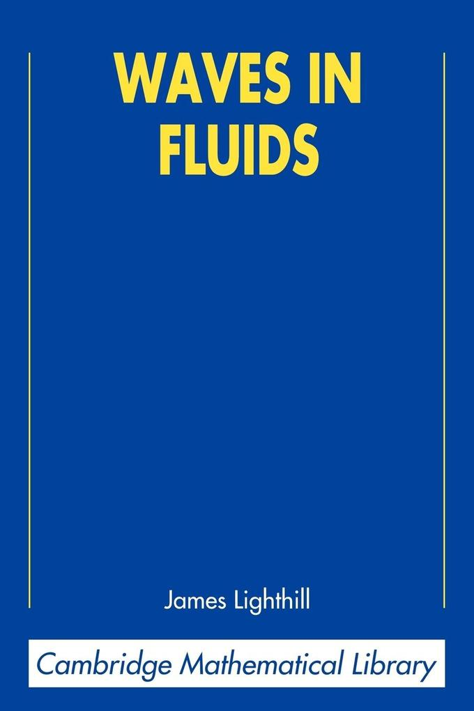 Waves in Fluids als Buch