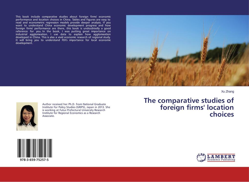 The comparative studies of foreign firms´ locat...