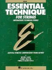 Essential Technique for Strings (Original Series): Cello als Taschenbuch