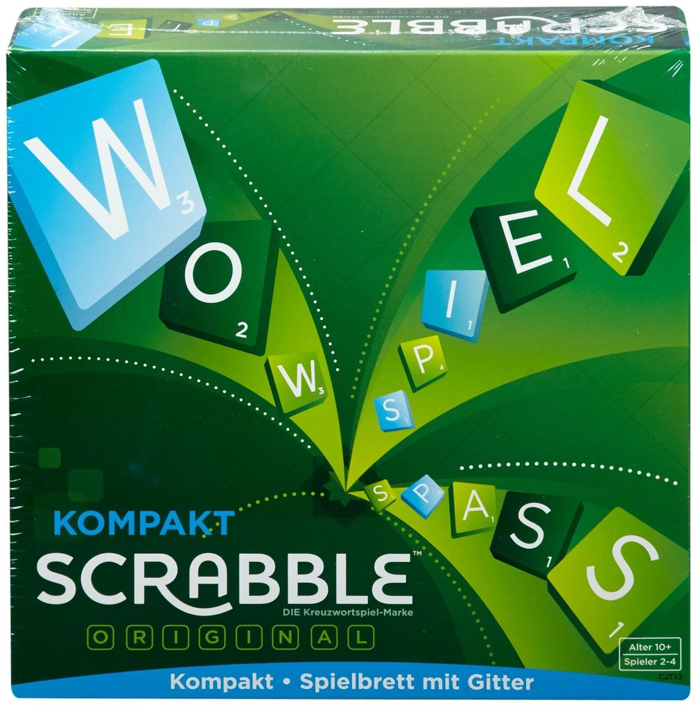 Mattel Games - Scrabble Kompakt als sonstige Artikel