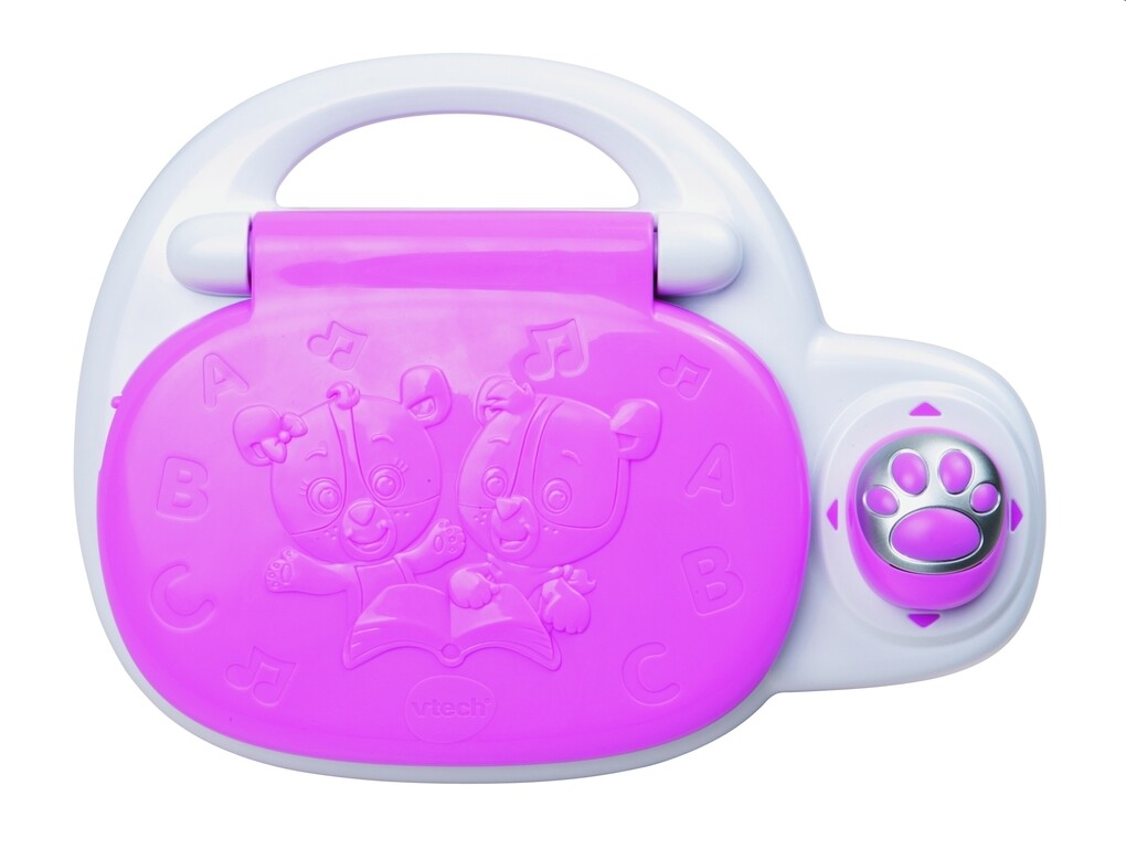 VTech - Baby - Lern und Musik Laptop, pink als Spielwaren