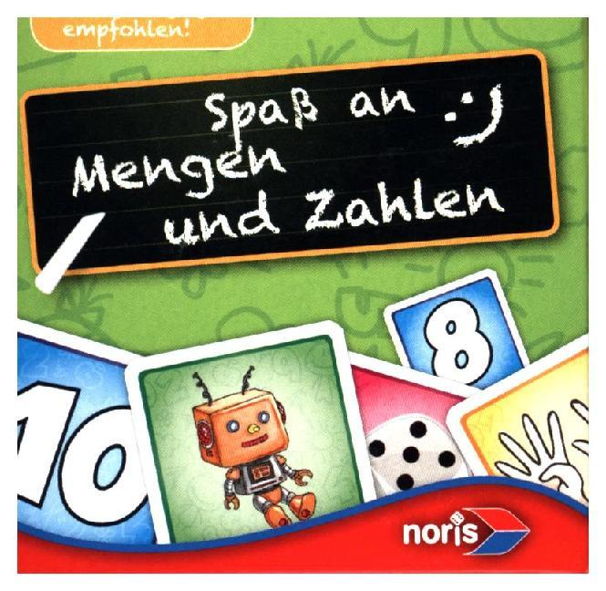 Mini Lernspiel, Spaß an Mengen und Zahlen (Kind...
