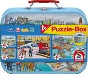 Schmidt 56508 - Metallkoffer Puzzle-Box