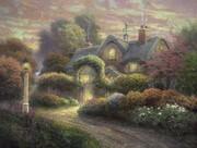 Schmidt Spiele - Puzzle - Cottage im Rosengarten, 1000 Teile