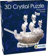 3D Crystal Puzzle - Pirartenschiff 101 Teile