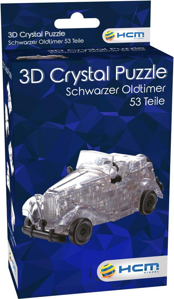 HCM Kinzel - Crystal Puzzle - Oldtimer schwarz