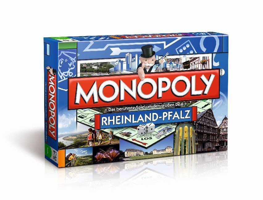 Winning Moves - Monopoly Regional Edition Rhein...