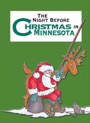The Night Before Christmas in Minnesota als Buch
