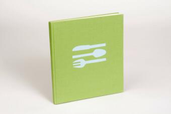 Kochbuch hellgrün/blau als Buch von