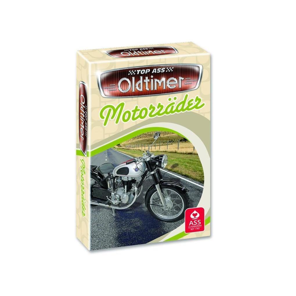 TOP ASS Oldtimer Quartett -Motorräder