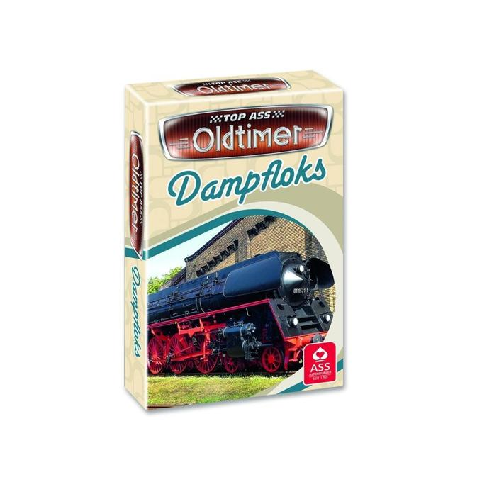 TOP ASS Oldtimer Quartett -Dampfloks