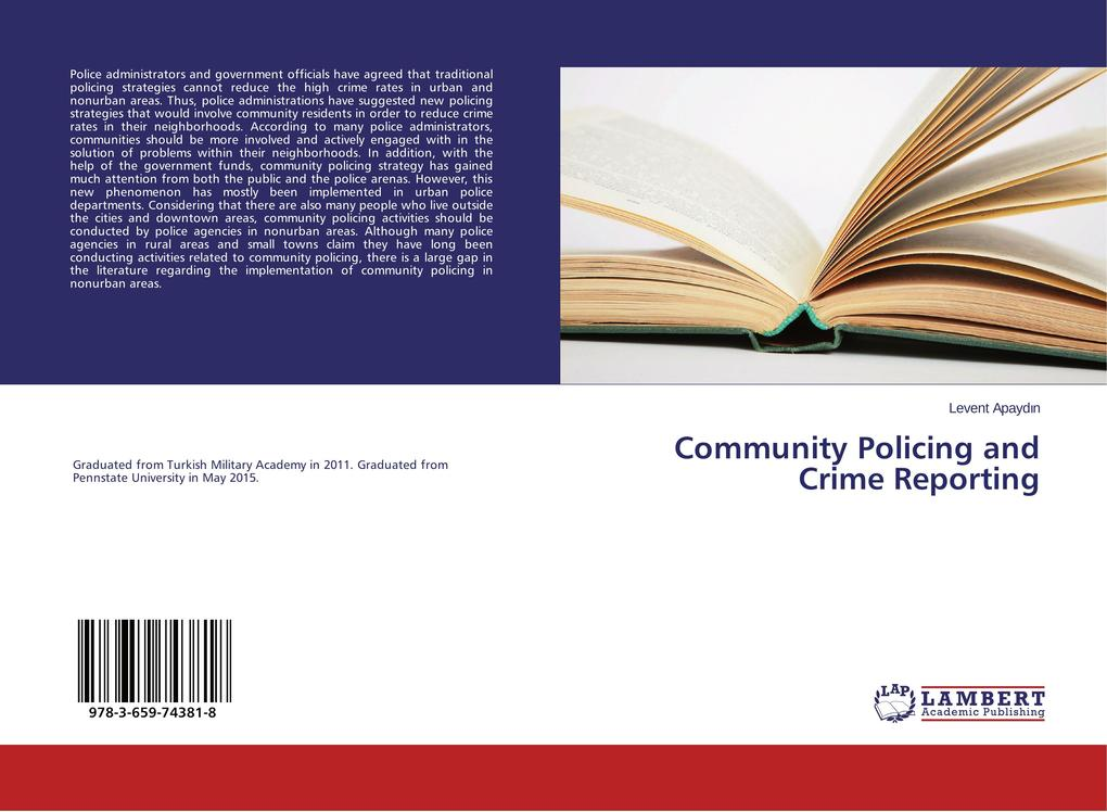 Community Policing and Crime Reporting als Buch...