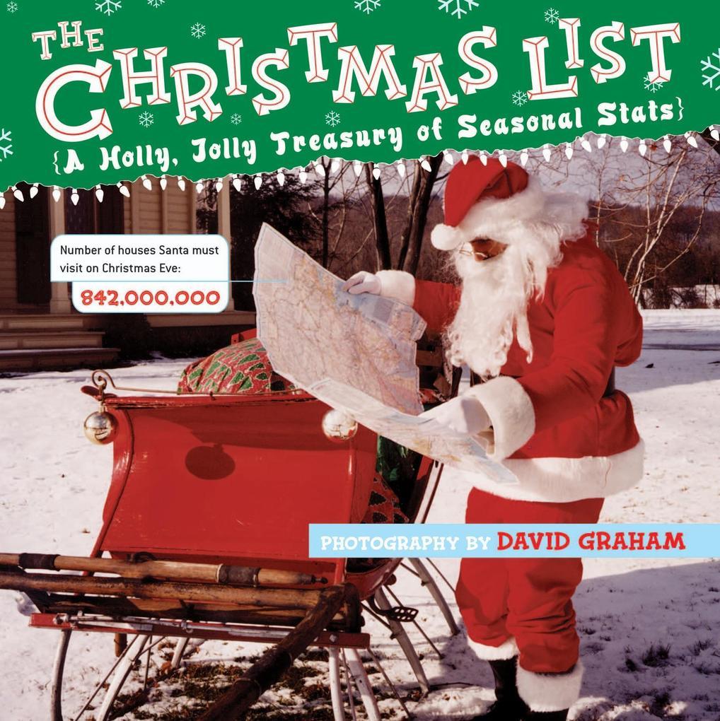 The Christmas List als Buch