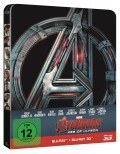 Avengers - Age of Ultron (3D Steelbook)