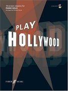 Play Hollywood, piano solo, w. Audio-CD