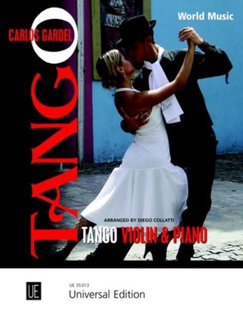 Tango als Buch von Carlos Gardel