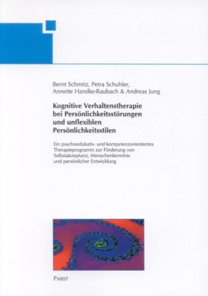 Kognitive Verhaltenstherapie bei Persönlichkeit...