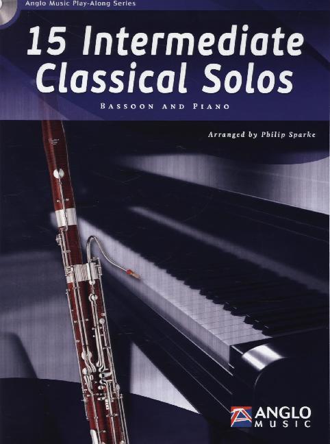 15 Intermediate Classical Solos, für Fagott u. ...