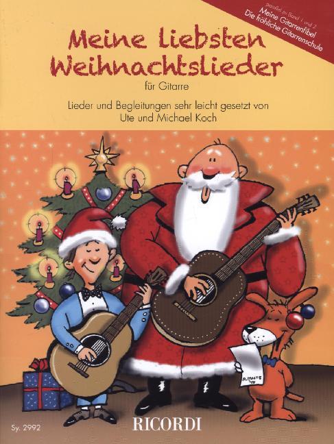 Meine liebsten Weihnachtslieder für Gitarre als...