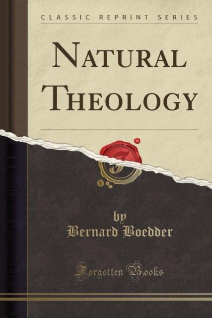 Natural Theology (Classic Reprint) als Taschenb...