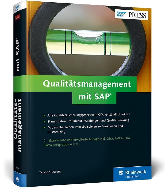 Qualitätsmanagement mit SAP als Buch von Yvonne...