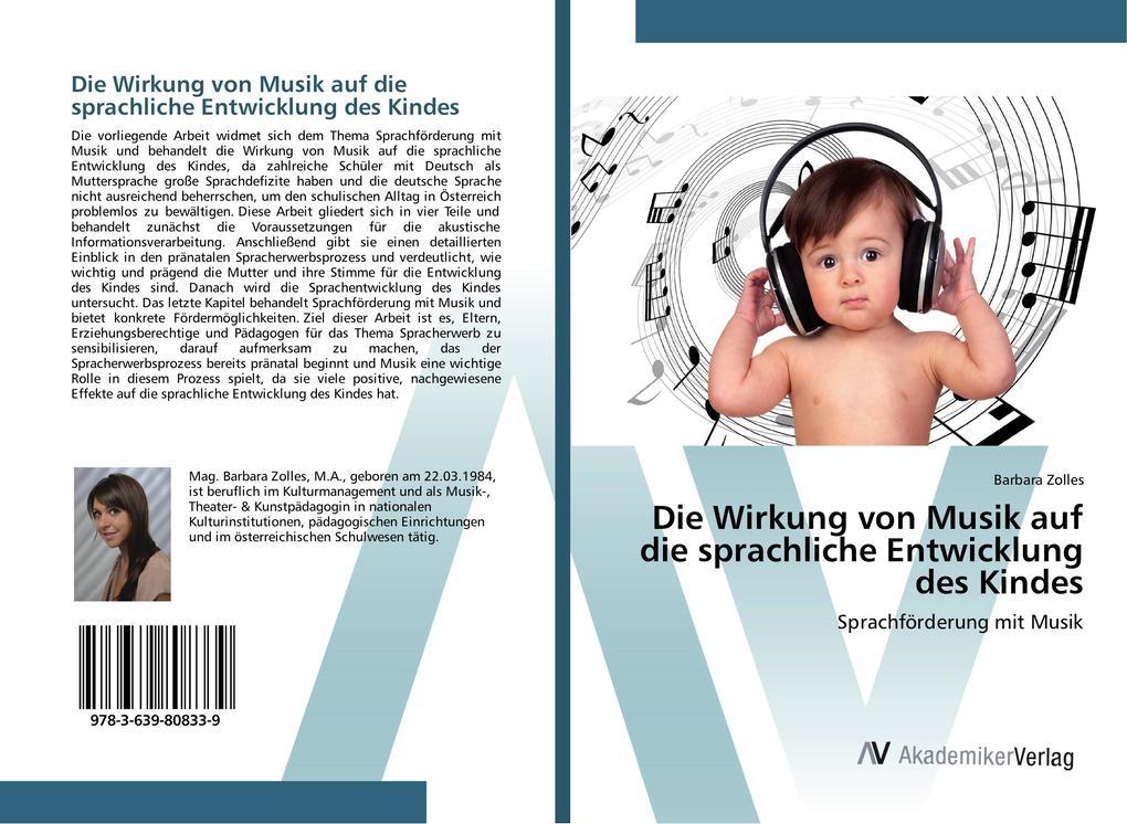 Die Wirkung von Musik auf die sprachliche Entwi...