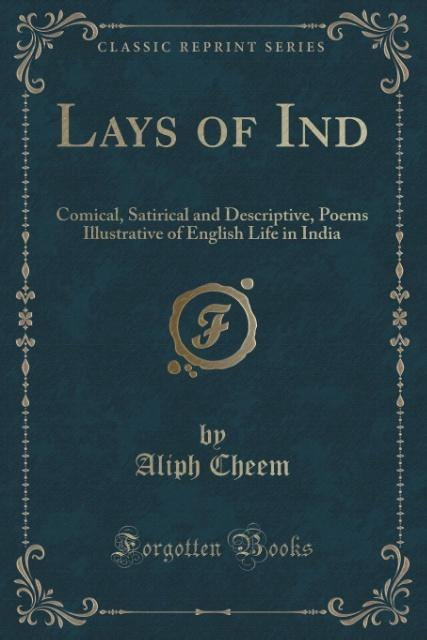 Lays of Ind als Taschenbuch von Aliph Cheem