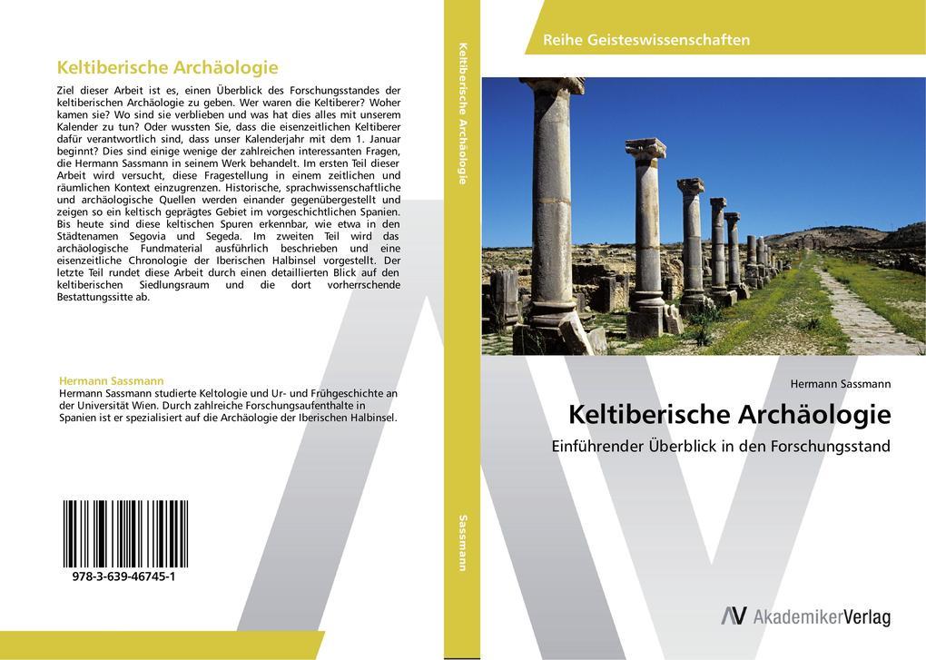 Keltiberische Archäologie als Buch von Hermann ...