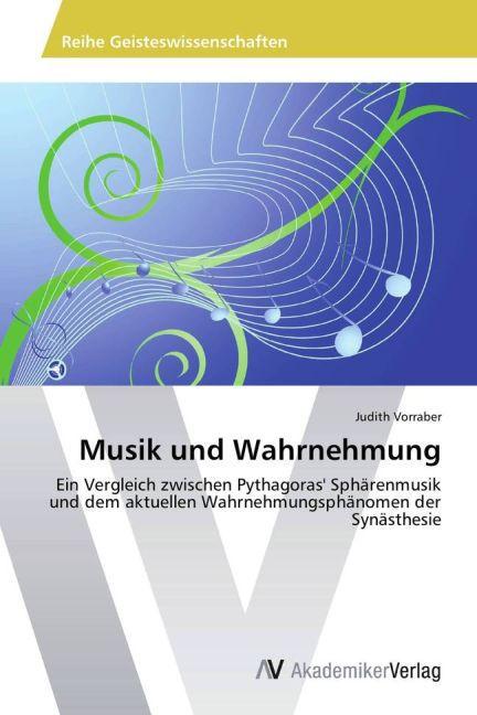 Musik und Wahrnehmung als Buch von Judith Vorraber