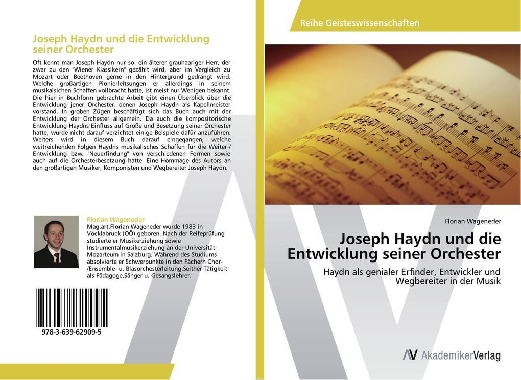 Joseph Haydn und die Entwicklung seiner Orchest...