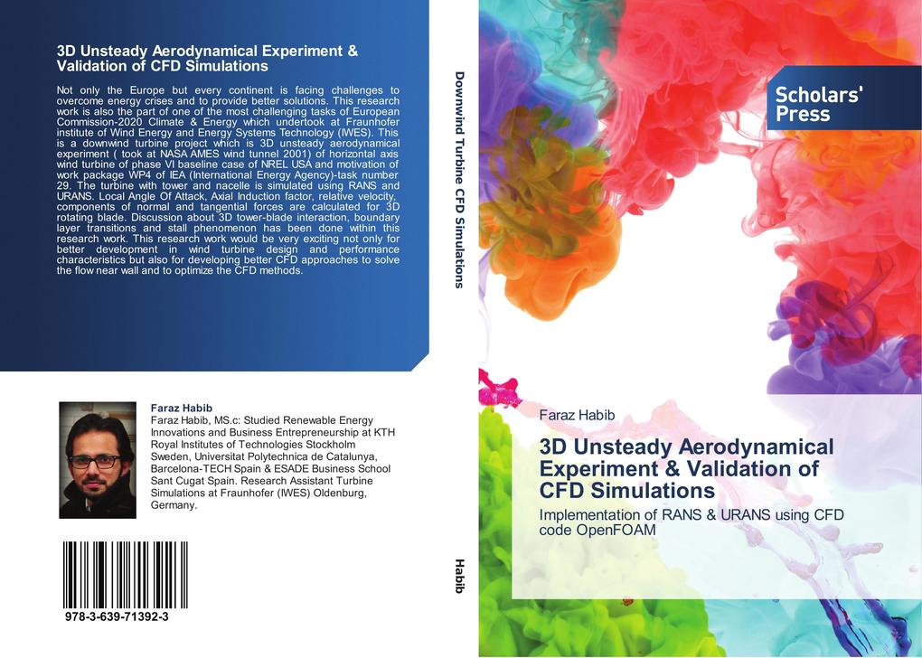 3D Unsteady Aerodynamical Experiment & Validati...