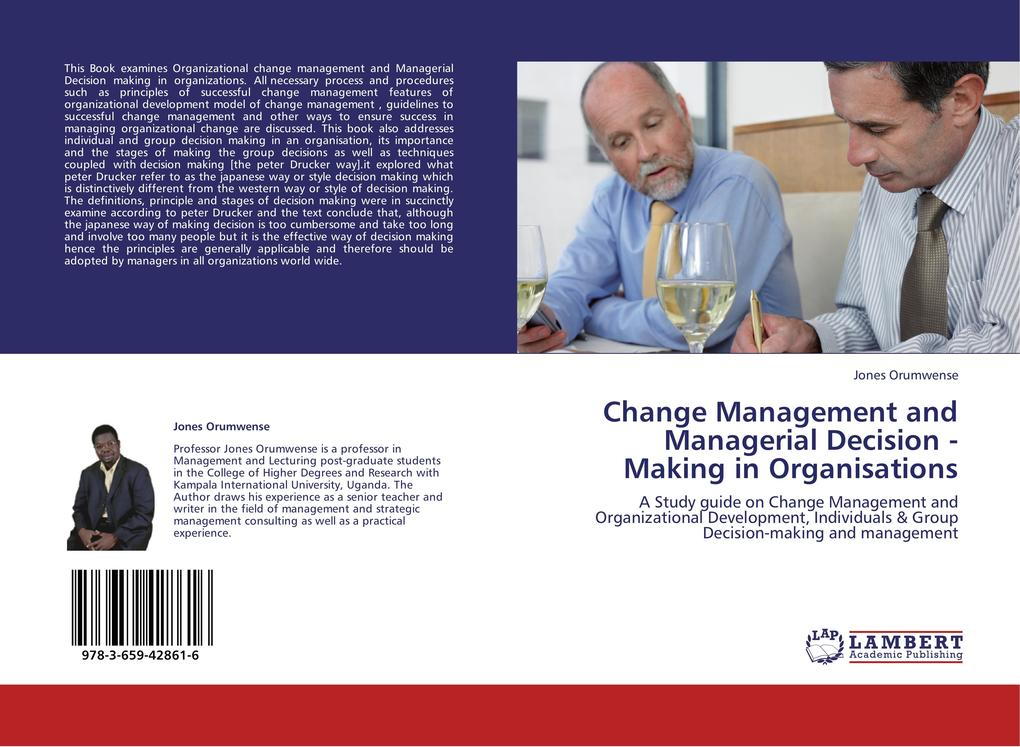Change Management and Managerial Decision - Mak...