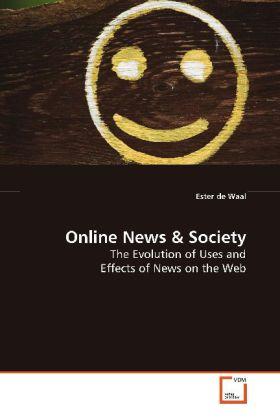 Online News als Buch von Ester de Waal