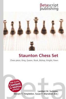 Staunton Chess Set als Buch von
