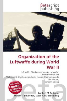 Organization of the Luftwaffe during World War ...