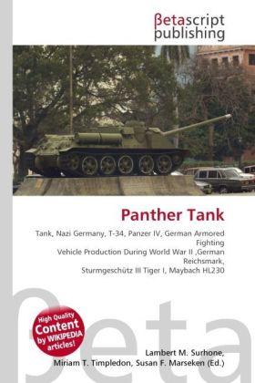 Panther Tank als Buch von