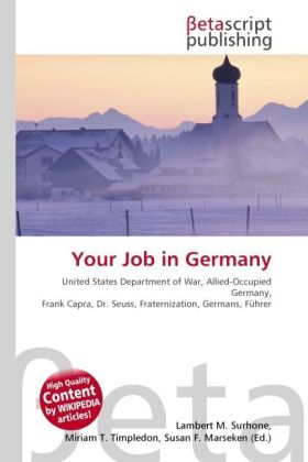 Your Job in Germany als Buch von