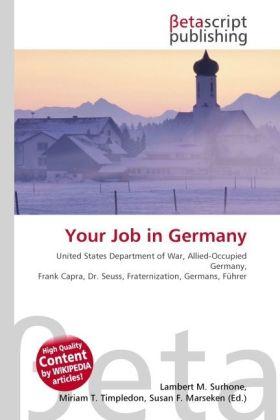Your Job in Germany als Buch von