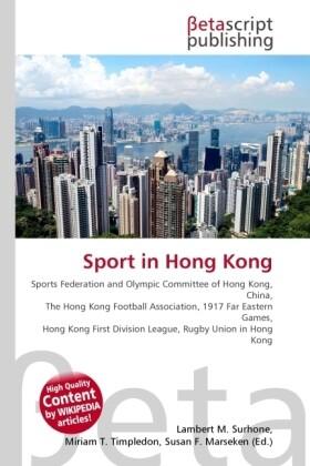 Sport in Hong Kong als Buch von