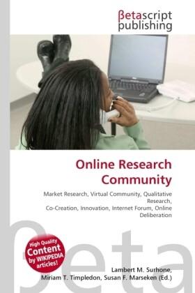 Online Research Community als Buch von