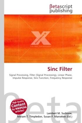 Sinc Filter als Buch von