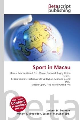 Sport in Macau als Buch von