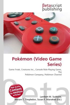 Pokémon (Video Game Series) als Buch von