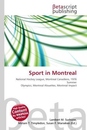 Sport in Montreal als Buch von