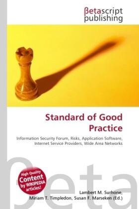 Standard of Good Practice als Buch von