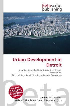 Urban Development in Detroit als Buch von