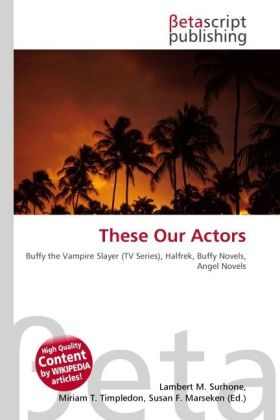 These Our Actors als Buch von